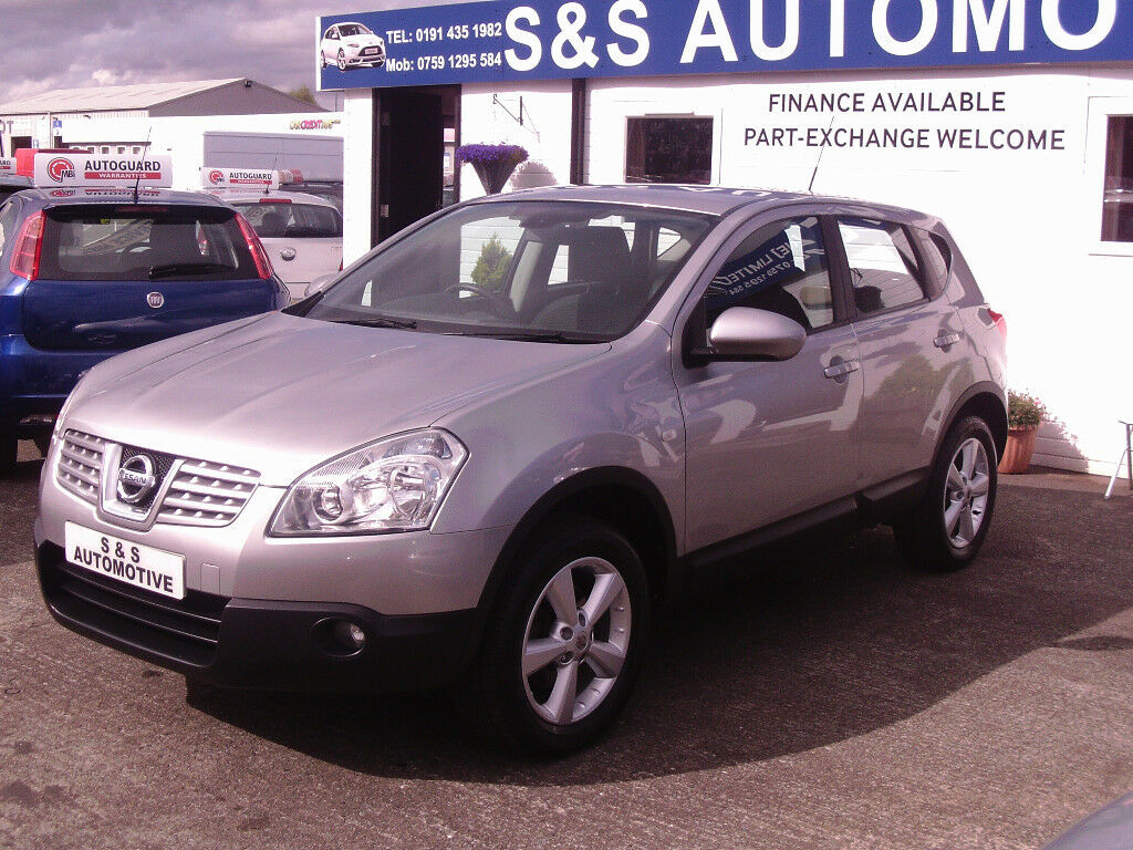 NISSAN QASHQAI ACENTA 12 MONTHS M.O.T 6 MONTHS WARRANTY (FINANCE AVAILABLE)