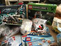 Lots of genuine lego sets and loose lego