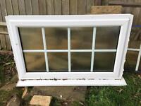 Double glazed windows different sizes and door -approx 3 years old
