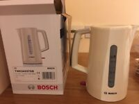 Bosch TWK3A037GB 1.7L Cordless Kettle - Cream
