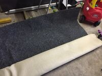 Dark grey carpet 4meter X 4meter