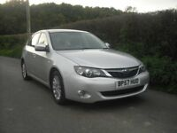 Subaru Impreza 5 door hatchback, 4wd new MOT, full service history, one previous lady owner