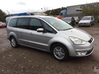 2007 FORD GALAXY 1.8TDCI GHIA 6 SPEED DIESEL 7 SEATER FULLY LOADED SILVER LEATHER