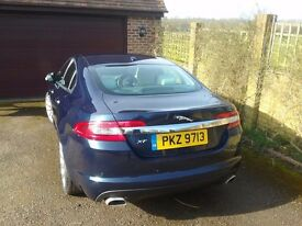 Jaguar xf Diesel Premium Luxury.Full service history.mettallic blue .