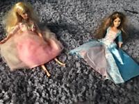 Barbie Princess and the Pauper dolls