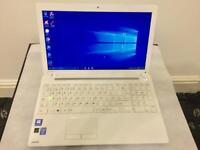 i3 6GB Ram Fast Like New Toshiba Satellite HD Laptop Massive 500GB,Window10,Microsoft office,Ready