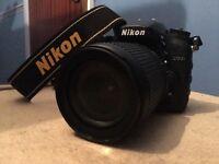 Nikon D7200 18 - 105mm VR lens kit
