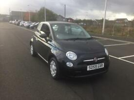 Fiat 500 1.2 Pop 3dr (black) 2010