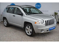 JEEP COMAPSS Can't get car finance? Bad credit, unemployed? We can help!