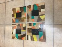 Placemats x 4 for sale