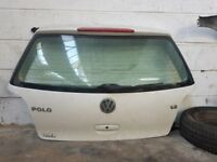 VW Polo Bootlid in White