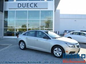 2014 Chevrolet Cruze 1LS  Accident Free - Local