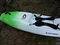 Perception 5-0 surf Kayak