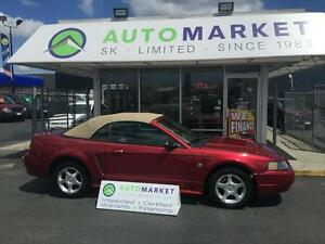 2004 Ford Mustang Deluxe Convertible V6, 5 spd.