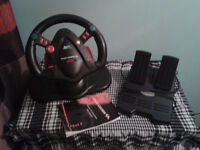 Nintendo 64 - Racing wheel and pedals
