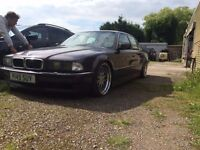 Breaking E38 BMW 740i for parts