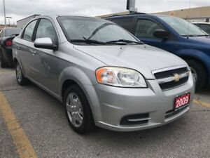 2009 Chevrolet Aveo LS / LOW  KMS  !!!!!/ A/C / GAS SAVER