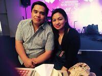 Filipino couple -Nanny housekeeping or dogwalking