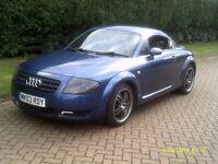 nice example Audi tt 6 speed 03 plate full cream leather
