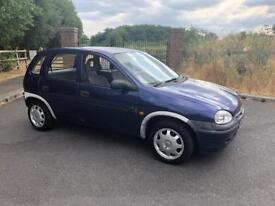 Cheap reliable Vauxhall's Corsa automatic 1.4 petrol car mot