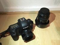 Black Canon Digital Camera DSLR E0S 6D + EF 50mm with Lens Compact Zoom WiFi Photography Shoot Nikon