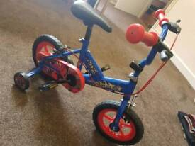 Lovely Childrens Bike with Stabilisers Only Used Once Can Deliver Locally for £5