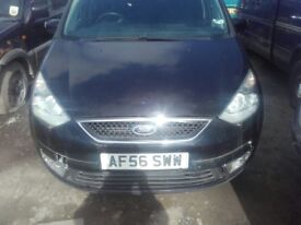 2006 Ford Galaxy 1.8 TDCi Black Manual BREAKING FOR PARTS Spares