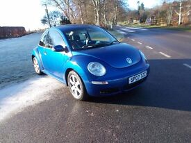 2007 07 VOLKSWAGEN BEETLE 1.6 LUNA MANUAL LOVELY METALLIC BLUE