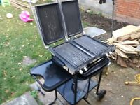 George Foreman Double Knockout Electric BBQ Grill