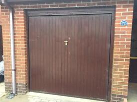 Henderson up and over wooden garage door