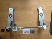 Axis Sabre A21 Double Bass Kick Drum Pedal with MicroTune