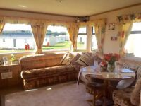 Cheap Static Caravan Holiday Home For Sale In Scotland With Beautiful Sea-Views On A Cliff Top Park!