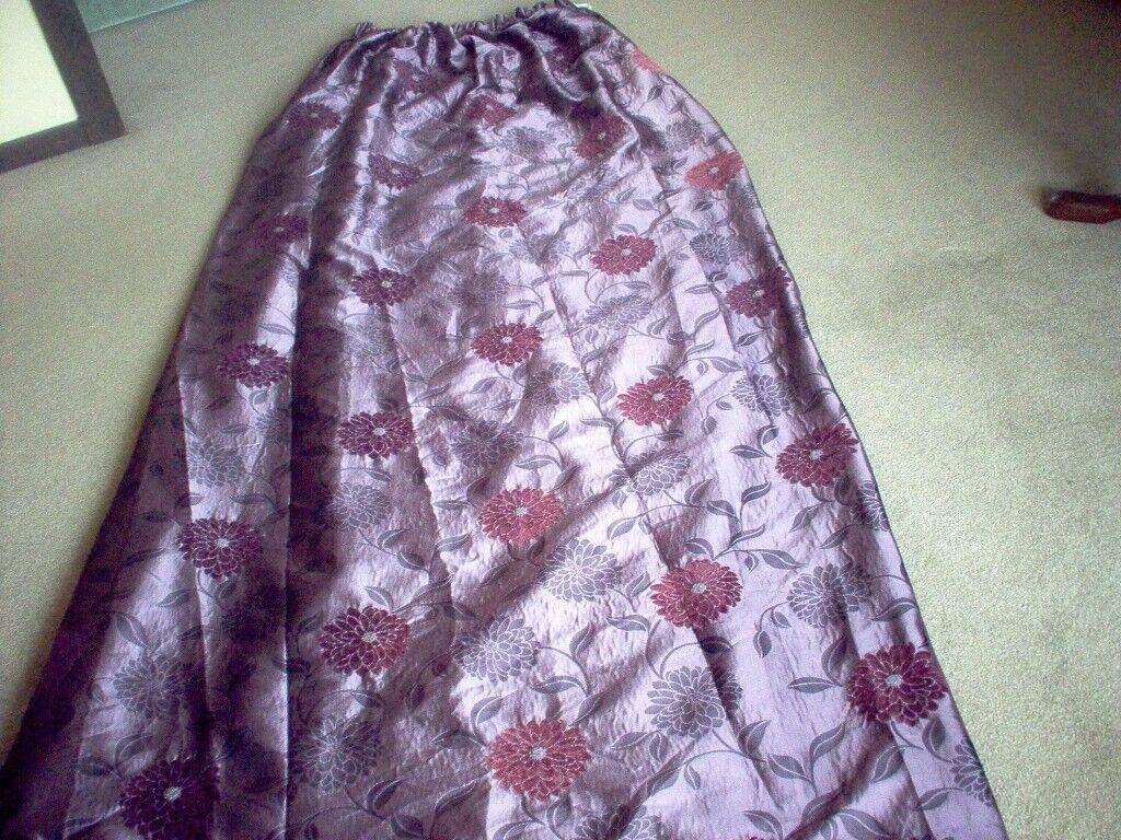 Purple Curtains,