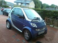 Convertible Smart Car reduced from 1500 to 1200