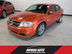 2011 Dodge Avenger SXT V6, CHROME WHEELS, ACCIDENT FREE