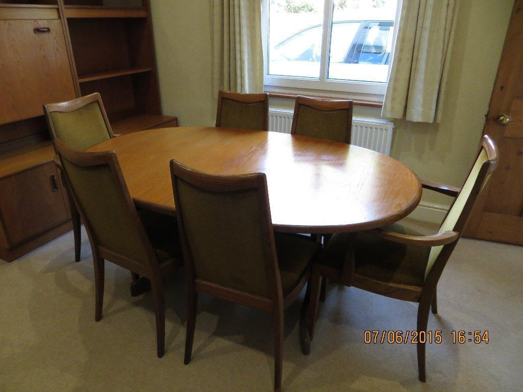 G PLAN DINNING TABLE AND SIX CHAIRS in Woking Surrey  : 86 from www.gumtree.com size 1024 x 768 jpeg 81kB