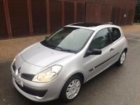 RENAULT CLIO 1.3 (NEW SHAPE) Cheap Insurance & Tax, Excellent Condition, E/Windows, P/Steering, MOT