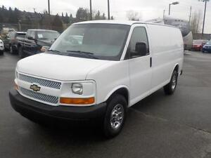 2008 Chevrolet Express 2500 Cargo Van with Shelving