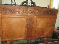 Old Vintage/Antique Retrol Sideboard/Dresser/Unit