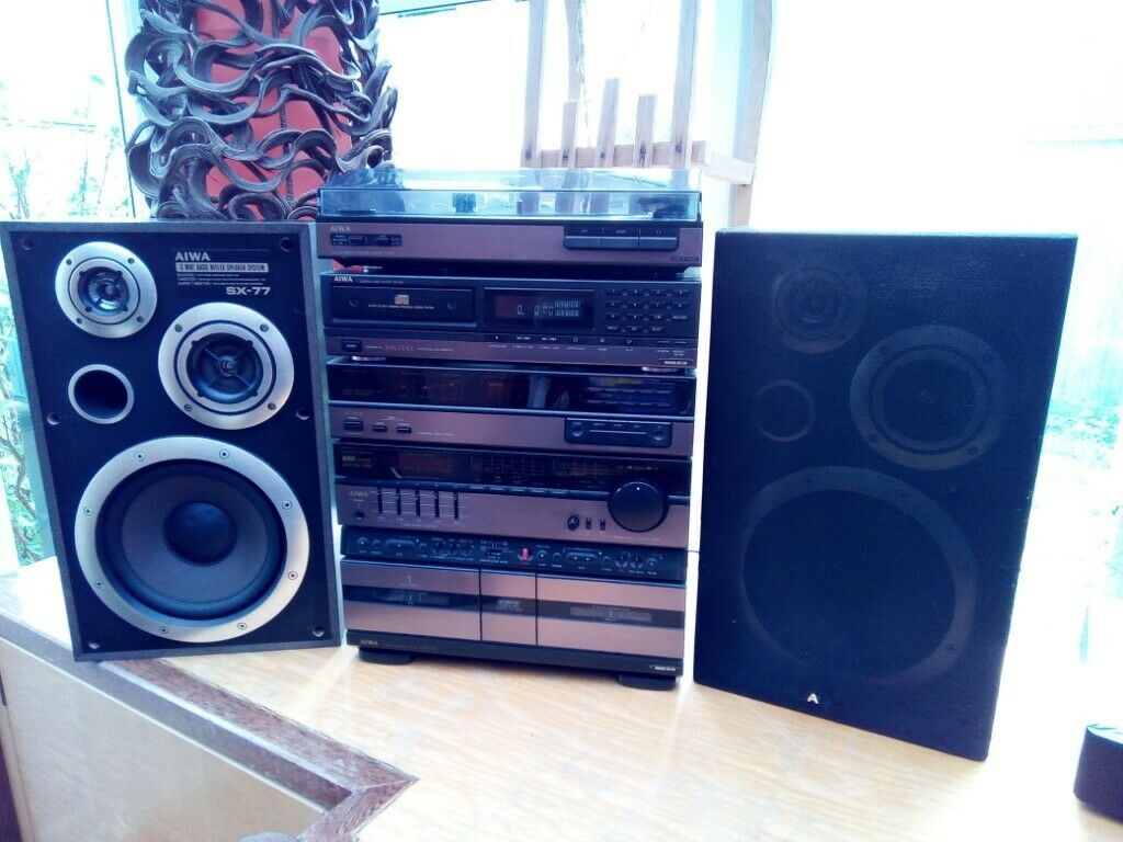Aiwa 80s music centre retro | in Leicester, Leicestershire | Gumtree