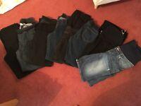 Maternity clothes bundle (size 8-10)