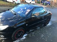 PEUGEOT 206cc bit of damage to the body but runs perfectly & roof works perfect