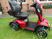 drive cobra 2016 mobility scooter immaculate used three times big powerful smart looking scooter