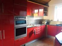 Lovely, Red Gloss, Complete Kitchen with free appliances!