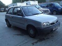 nissan micra 1997 clean/tidy car
