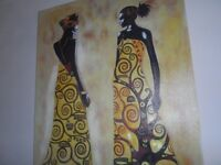 GORGEOUS AFRICAN THEME WALL CANVAS