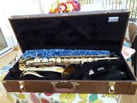 Elkhart Series II tenor sax - ideal for beginners.