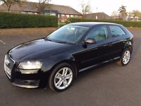 2008 '58' Audi A3 SE 2.0 TDi - Black - 3 Door - New Shape - FSH