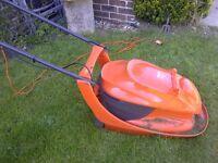 Flymo lawn mower VAC 280, less than a year old. VGC.