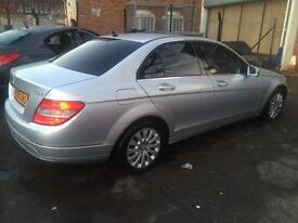 Mercedes Benz c220cdi blue effiecency automatic